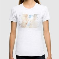 Blue is the warmest colour - chapter one - hand-painted movie poster -  Womens Fitted Tee Ash Grey SMALL
