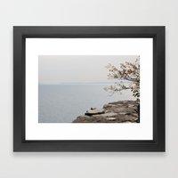 Along The North Shore Framed Art Print