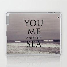 You, Me, and the Sea Laptop & iPad Skin