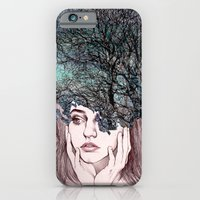 iPhone & iPod Case featuring Scatterbrain by KatePowellArt