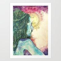 Inhale, Exhale. Introspe… Art Print
