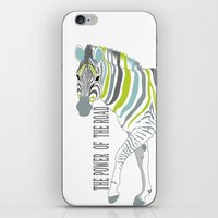 The power of the road iPhone & iPod Skin