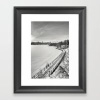 Along Ottawa River Framed Art Print