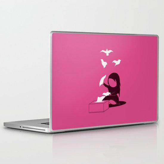 The freeing Laptop & iPad Skin