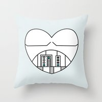Stormtrooper Character H… Throw Pillow