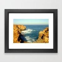 Great Southern Ocean Framed Art Print