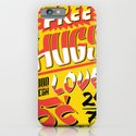 Free Hugs Cheap Love iPhone & iPod Case