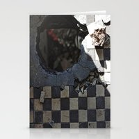 Hole in the floor Stationery Cards