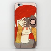 Behind The Lens iPhone & iPod Skin