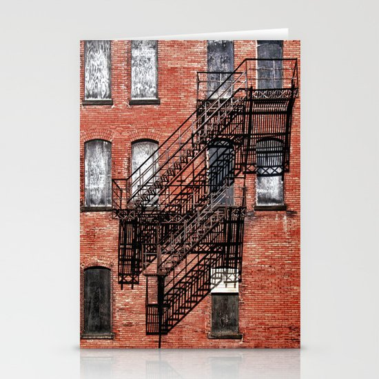 Tenement facade  Stationery Card