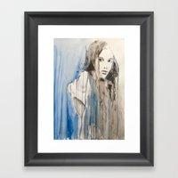 She Was Sorry That She D… Framed Art Print