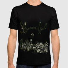 LEPRECHAUN  SMALL Black Mens Fitted Tee
