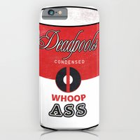 iPhone & iPod Case featuring Deadpool's Can of Whoop-Ass! by bionicman31