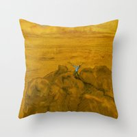 The Lord Of The Mountain… Throw Pillow