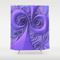 I Saw The Wind Today Shower Curtain