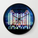 Mad Hatter's House Wall Clock