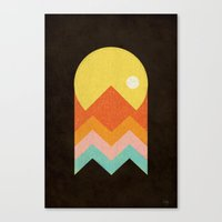 Amazeing Sunset Canvas Print