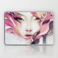 Laptop & iPad Skin featuring Bauhinia by Anna Dittmann