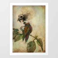 Soul of a Bird Art Print