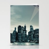 Manhattan Night Stationery Cards