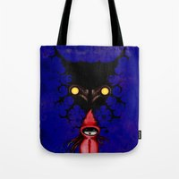 Little Red Riding Hood Watercolor/Pen&ink/Acrylic Tote Bag