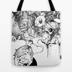 A Heavy Heart Tote Bag