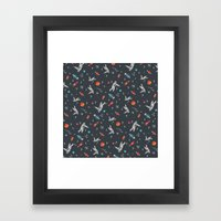 Spaceships, Planets And … Framed Art Print