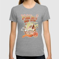 Pork Butts And Taters Womens Fitted Tee Tri-Grey SMALL