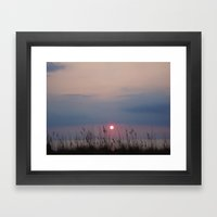 Sun Up Framed Art Print