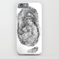 iPhone & iPod Case featuring Detective Thumb by Esteban Ruiz