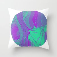 Arsenicofago Logo Throw Pillow