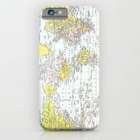Vintage World Map iPhone 6 Slim Case