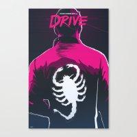 Drive (Night Version) Canvas Print