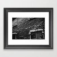 PRETTY PLEASE WITH SNOW … Framed Art Print