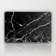 Laptop & iPad Skin featuring Black Marble by Santo Sagese