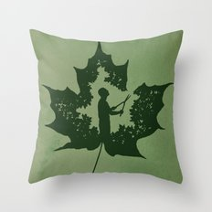 A New Leaf Throw Pillow