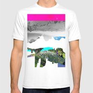 Experiment Am Berg 28 Mens Fitted Tee White SMALL