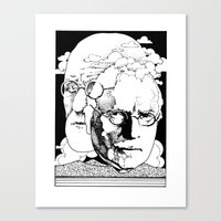 Freud-Jung Canvas Print