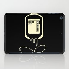 Coffee Transfusion - Black iPad Case