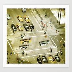 Escher Intersection Art Print