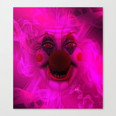 Cotton Candy Clown Canvas Print