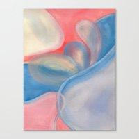Watercolor Pastel V. G. 02 Canvas Print