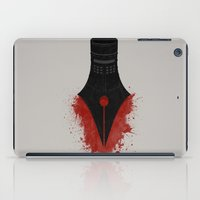 The sword is mightier than the pen iPad Case