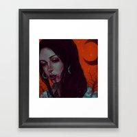 Devils Kettle Framed Art Print