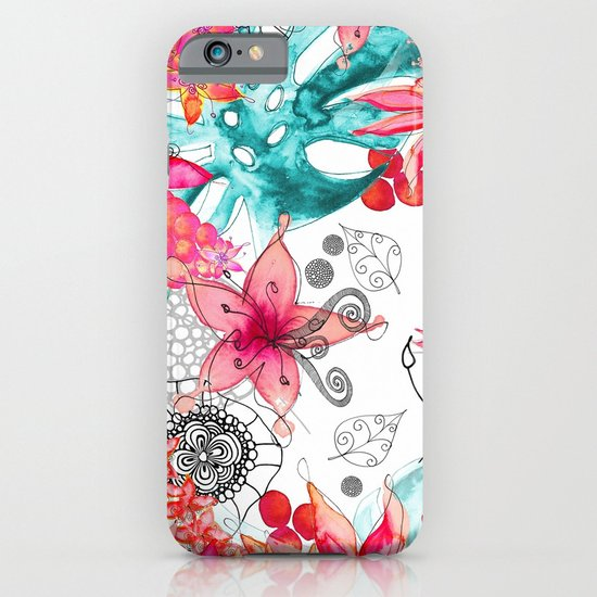 TROPICAL GARDEN iPhone & iPod Case