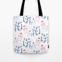 For the nautical enthusiast. Tote Bag