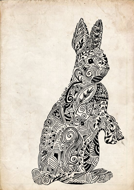 Rabbit2 Art Print
