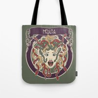 foolish medusa (green) Tote Bag