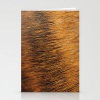 Brindle Fur Stationery Cards