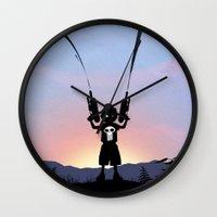 Punisher Kid Wall Clock